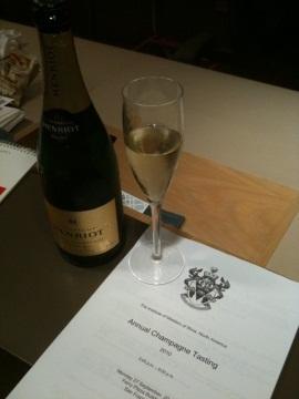 Annual Champagne Tasting