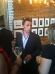 Vineyard Brands' Emmanuel Lemoine pours for legions of tasters