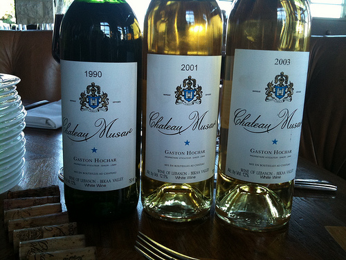 Whites from Chateau Musar to Taste