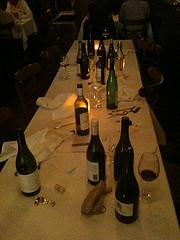 Sydney dinner aftermath