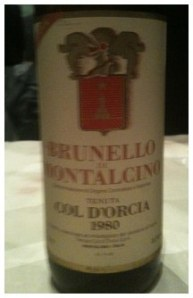 That's some old Brunello!