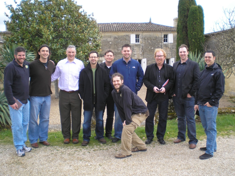 The Team at En Primeurs 2009