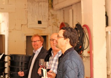 Garagiste winemaker Michel Gracia (c) Sharing a Glass With JJB