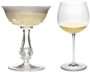 From which glass would you rather drink your bubbly?