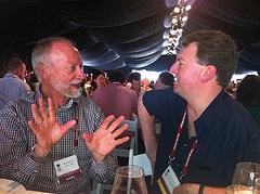 Jim Robertson of Brancott Estate with Alder Yarrow of vinography.com discuss the vintage