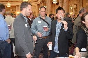 JJB Wine Specialists (from left to right) Ryan Moses, Neil Mechanic and Jeff Loo
