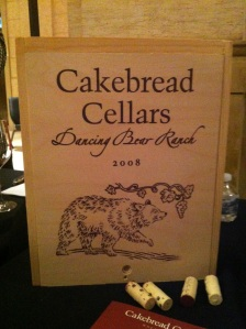 Cakebread's Howell Mountain Release