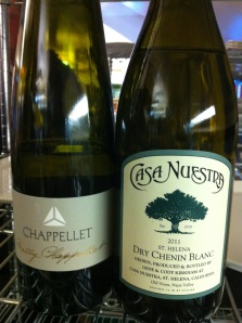Napa makes white wine too!