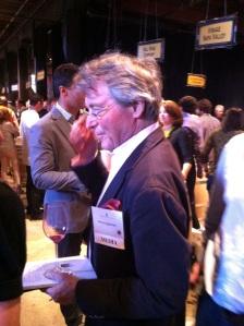 British wine expert, Steven Spurrier