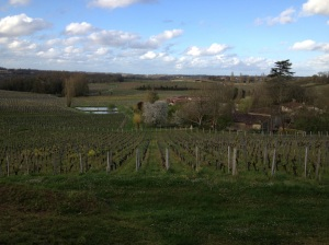 St. Emilion - always a sight for sore eyes