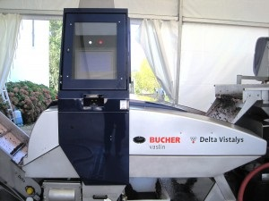 The 2012 winemaker's best friend - the optical sorting machine