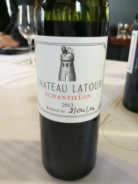 Tasting the 2013 Chateau Latour