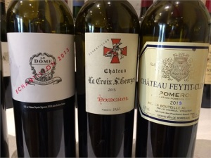 A few of the 2013s tasted at the offices of Jeffrey Davies