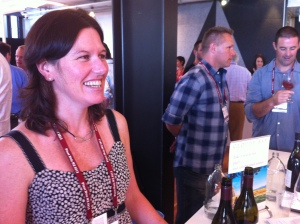 Sarah Burton of Cloudy Bay Winery